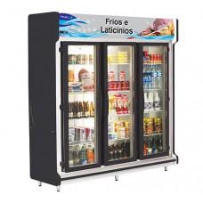 Refrigerador Expositor  com 3 portas - Polofrio