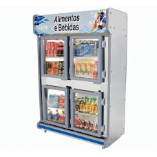 Refrigerador Comercial 4 portas - Polofrio