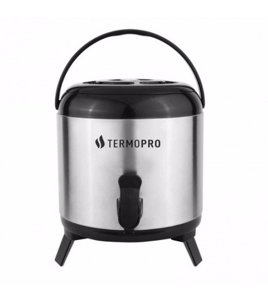 Botijão Térmico Aço Inox 6L - Termopro